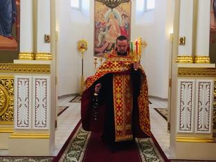 Вечернее Пасхальное богослужение субботы Светлой седмицы