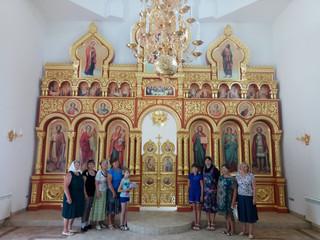 3 августа прихожане собирались на уборку храма после установки иконостаса