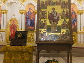 Канун дня памяти свт. Спиридона, епископа Тримифунтского