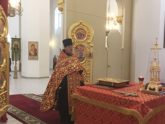 Канун Недели 2-й по Пасхе, апостола Фомы (Антипасха)