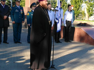 Настоятель храма поздравил кадетов с принятием присяги