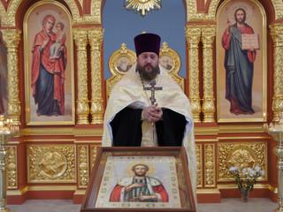 Водосвятный молебен с акафистом святому благоверному князю Александру Невскому