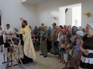 Молебен в честь празднования Смоленской иконы Божией Матери
