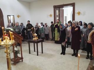 Всенощное бдение в канун Входа Господня в Иерусалим