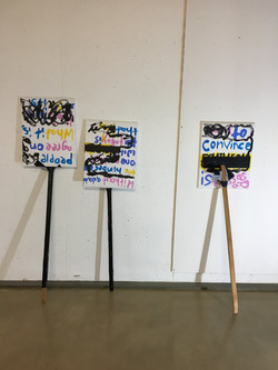 'Protest signs'