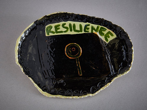 'Resilience' Plate