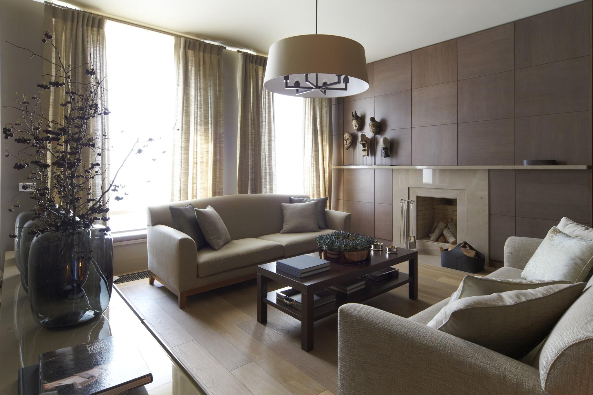 3. Гостиная. Квартира в современном стиле
