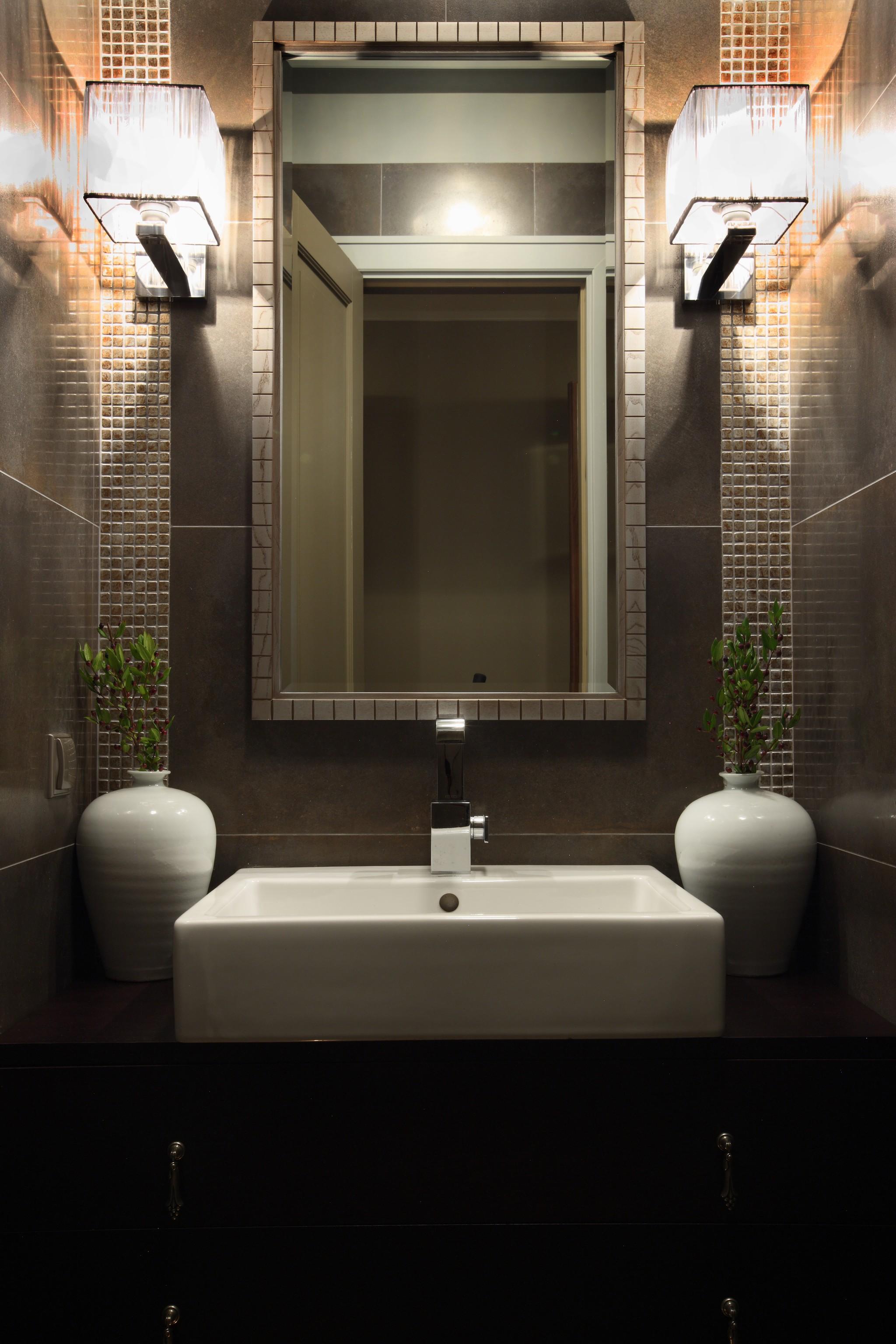 12. Ванная. Квартира в стиле современная классика