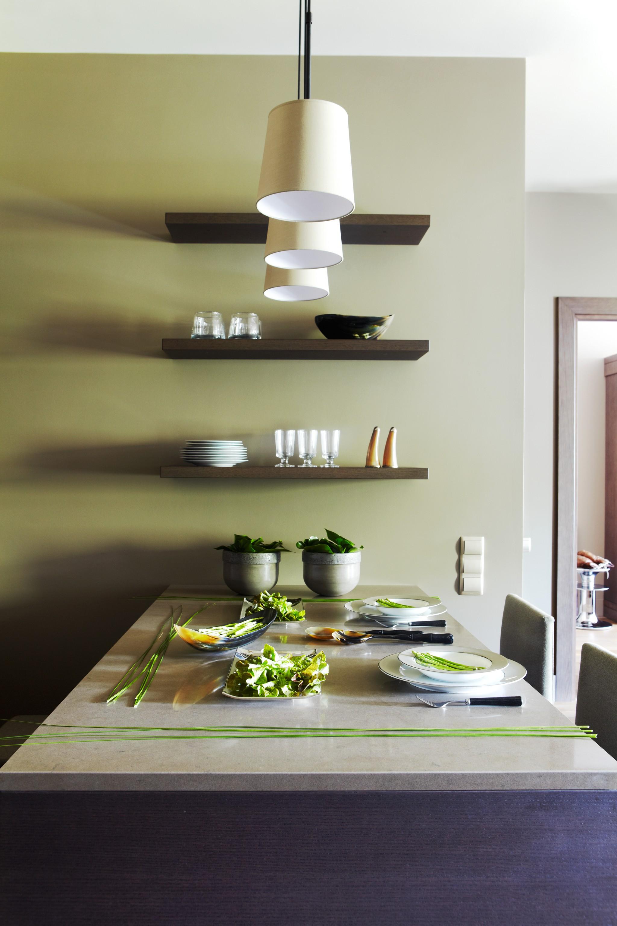 6. Кухня. Квартира в современном стиле