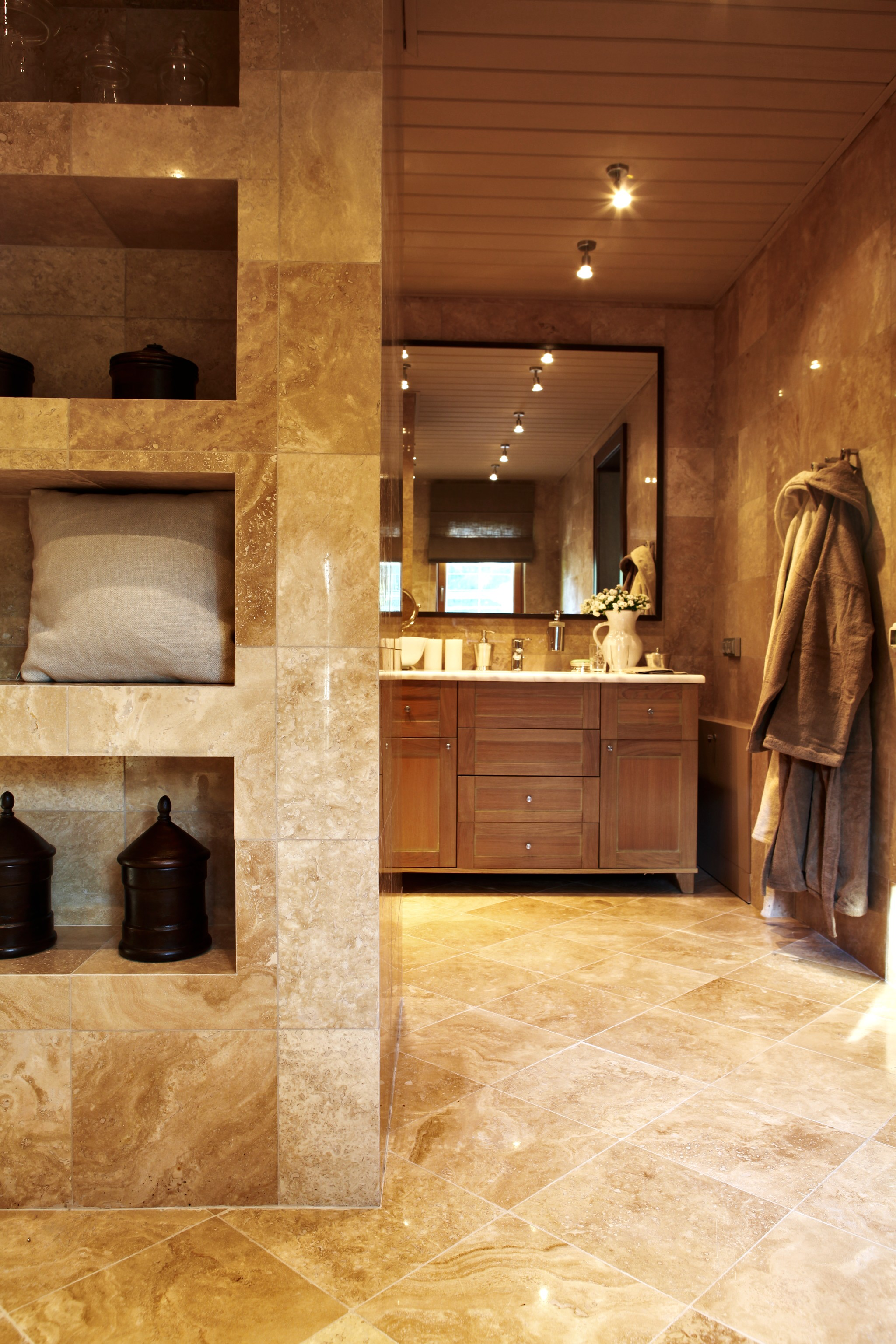 17. Ванная комната. Дом в английском стиле