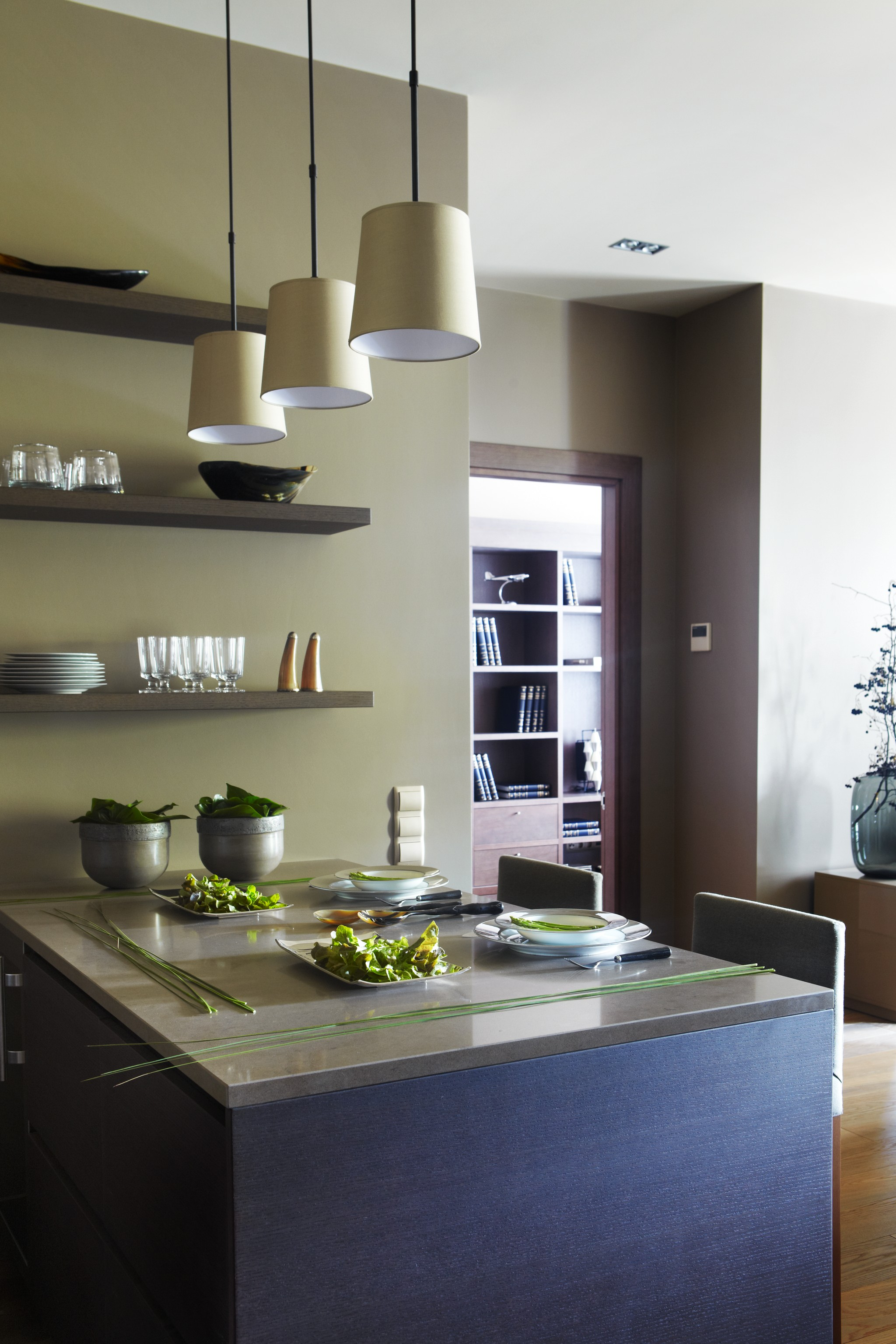 5. Кухня. Квартира в современном стиле