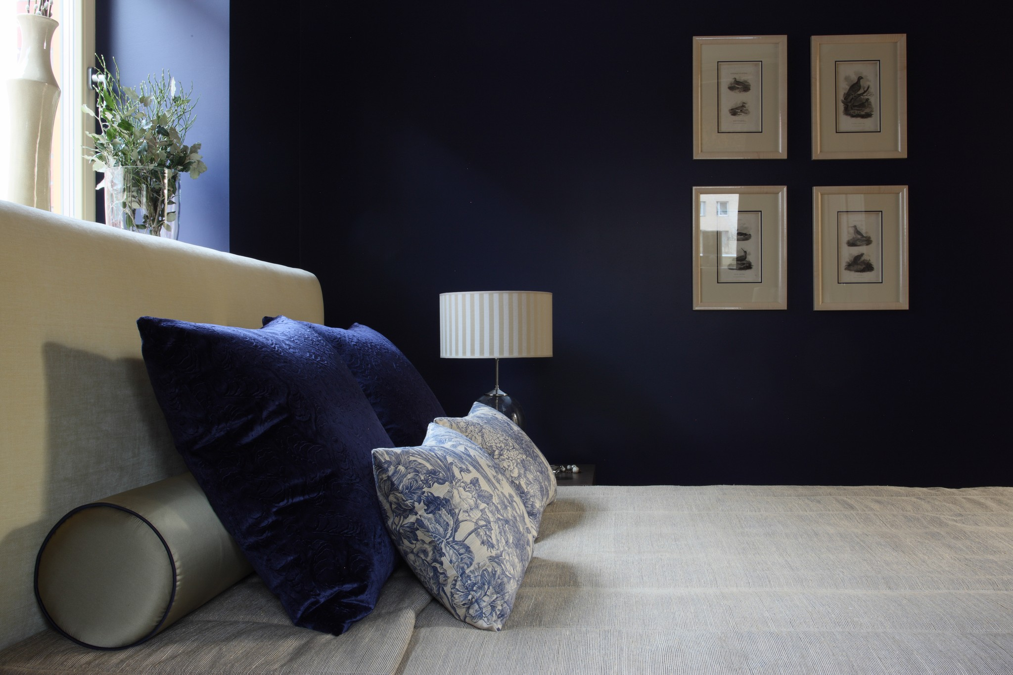 13. Спальня. Квартира в стиле современная классика