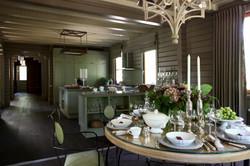 4. Кухня столовая. Дом в английском стиле