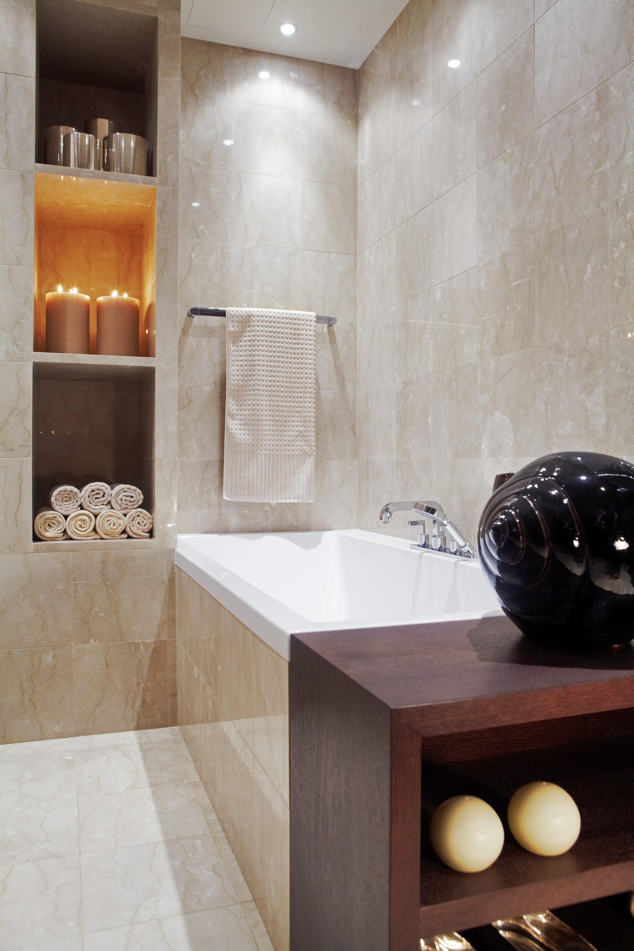 16. Ванная. Квартира в современном стиле