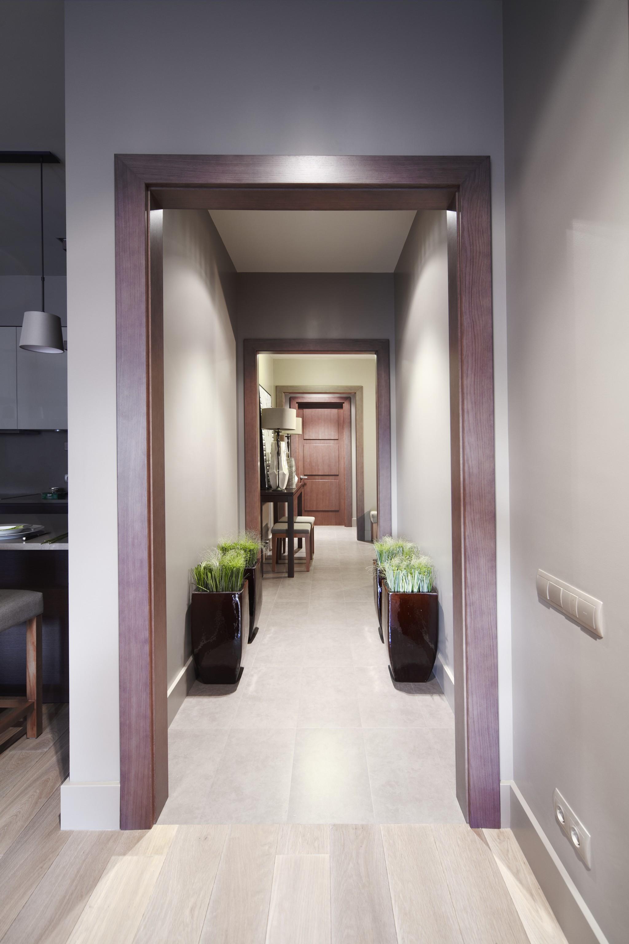 9. Коридор. Квартира в современном стиле