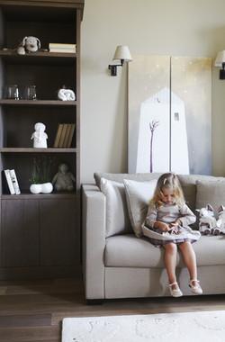 10. Детская комната, комната для девочки. Квартира в современном стиле