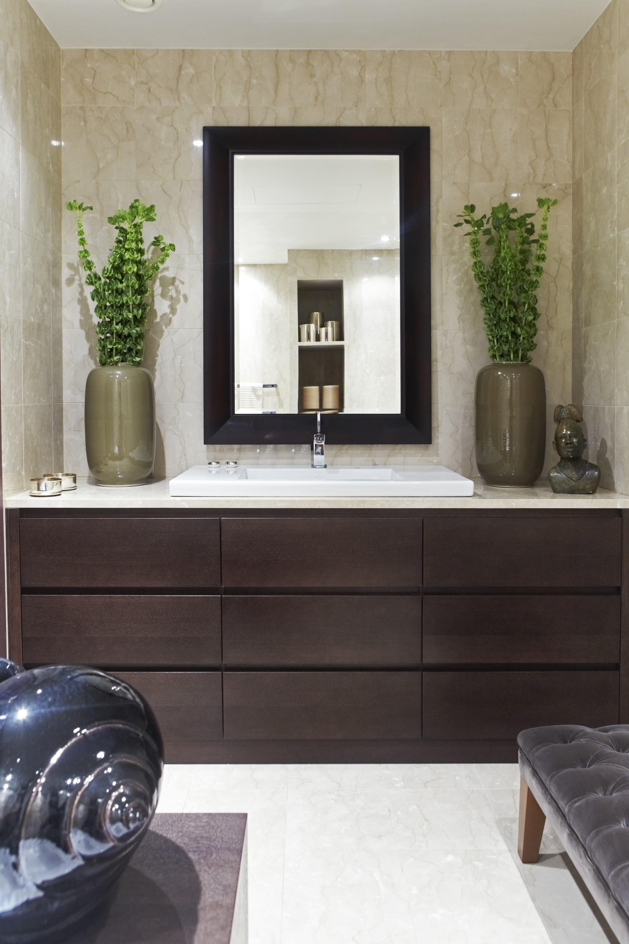 15. Ванная. Квартира в современном стиле