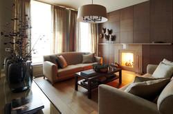 1. Гостиная. Квартира в современном стиле