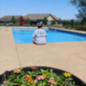 Poo liner, pool opening, salt life, pool cleaner