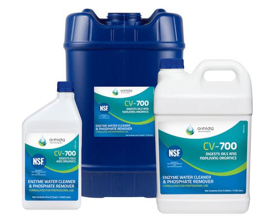 3 jugs of Orenda CV-700