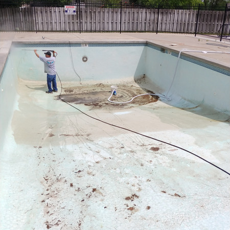Prepping Pool