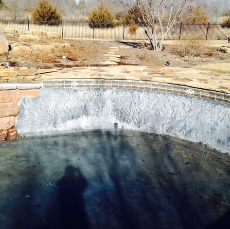 Salt Water Damage on Plaster Pool