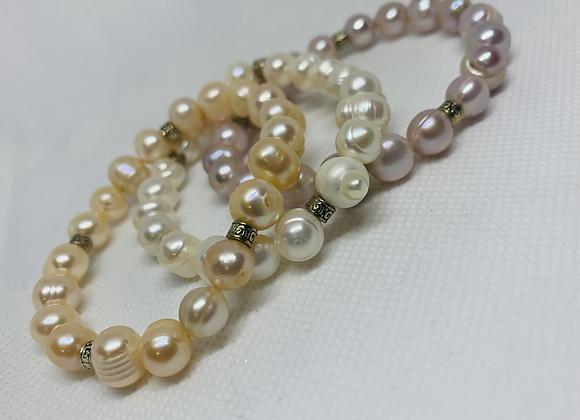 Fresh Water Pearls Triad