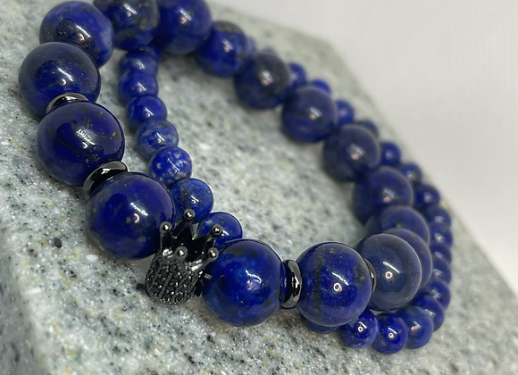 Lapis Crown Set