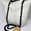 Thumbnail: Black Obsidian Necklace and Bracelet Set