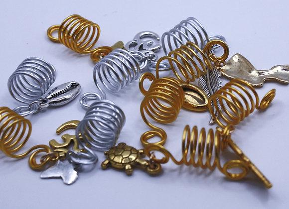 Loc/Braid Jewelry Pair (2 pieces)