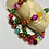Thumbnail: Multi-Color Agate Hand Knotted Necklace