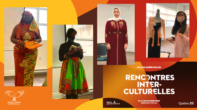 Costumes traditionnels pour la semaine québécoise des rencontres interculturelles