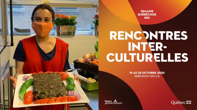 Recette de kookoos sabzi iraniens pour la semaine québécoise des rencontres interculturelles