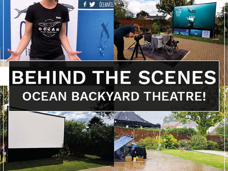 Ocean Backyard Theatre – the making of…