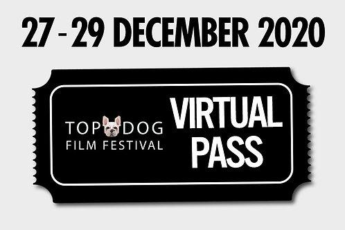 Gift Viewing Pass - Top Dog Film Fest - 27 December 2020