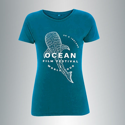 Ocean Film Festival Tour Tee - WOMEN'S - by SueMe®