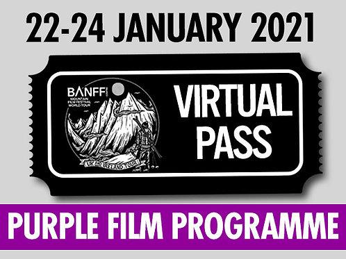 Bundle Pass - Purple - 22 January 2021