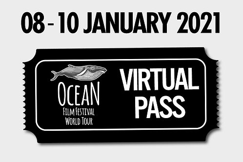 Gift Viewing Pass - Ocean Film Fest - 8 January 2021