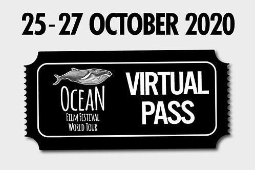 Viewing Pass - Ocean Film Festival - 25 Oct 2020