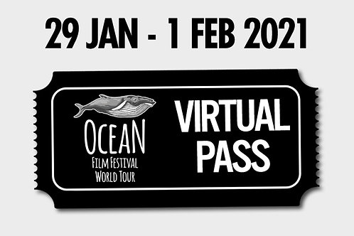 Viewing Pass - 'Best of' Ocean Film Fest - 29 January 2021