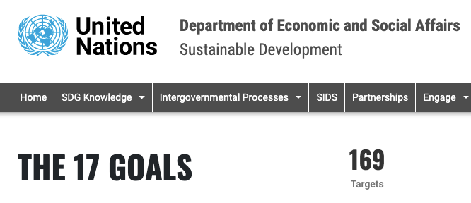 United Nations: The 17 Sustainable Development Goals