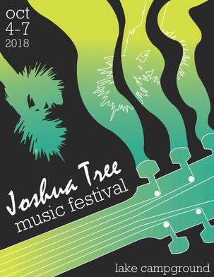 Joshua Tree Music Festival Flyer, side 1