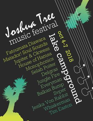 Joshua Tree Music Festival Flyer, side 2