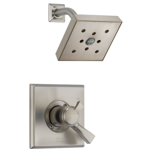 Custom Delta Shower In Stainless Steel Finish