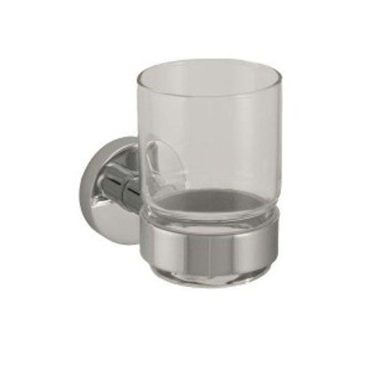 FG-E205CP Faucets Galore Round Glass Holder