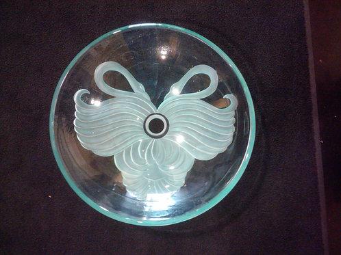 """Robert Scira Custom 19"""" Vessel Sink - Swan Design"""
