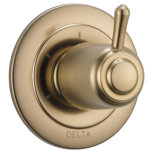 Delta Diverter Trim In Champagne Bronze