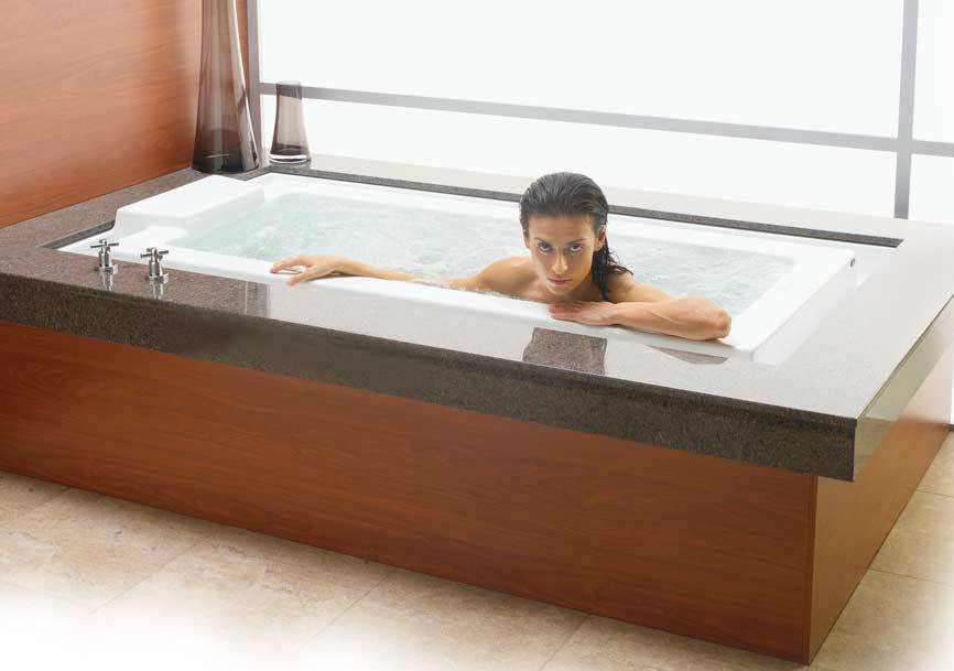 DROP-IN INFINITY EDGE TUB