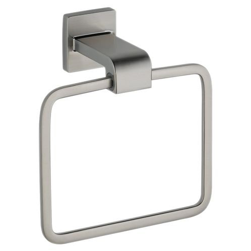 Delta Modern Towel Ring In Stainless Steel Finish