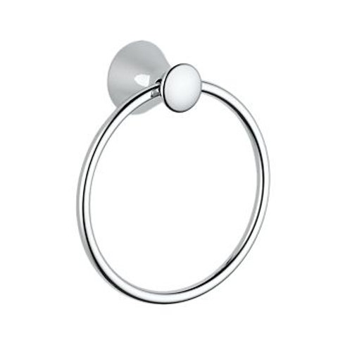 Delta Towel Ring in Chrome